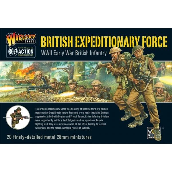INFANTERIA BRITANICA B.E.F. (20 unidades)