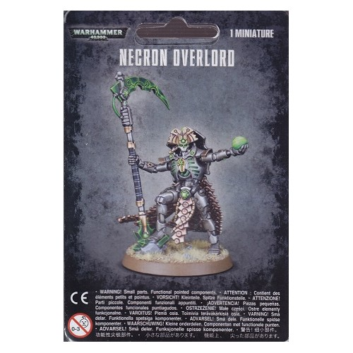 NECRON OVERLORD - GAMES WORKSHOP 49-20