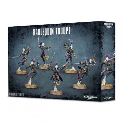 HARLEQUIN TROUPE - GAMES WORKSHOP 58-10