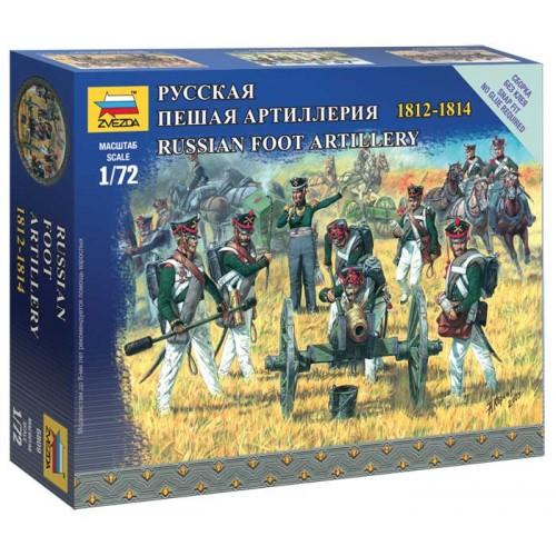 ARTILLERIA A PIE RUSA (1812-1814)