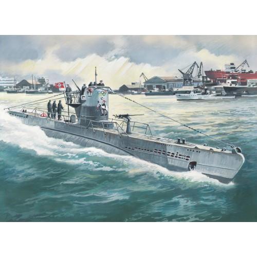 SUBMARINO U-Boat Type II B (1943) 1/144