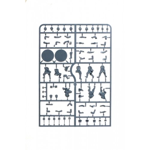 INFANTERIA SOVIETICA Y (Pegamento + Pintura) 1/56