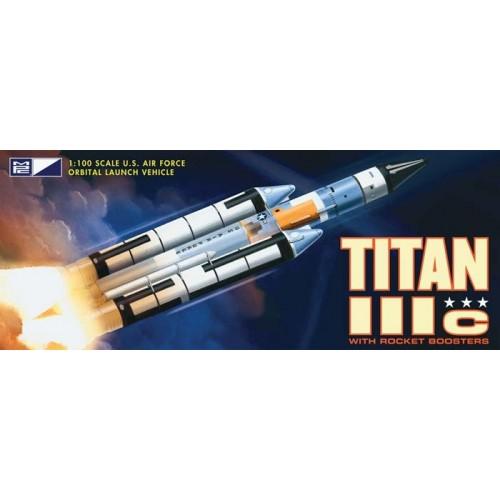 COHETE TITAN III c 1/100