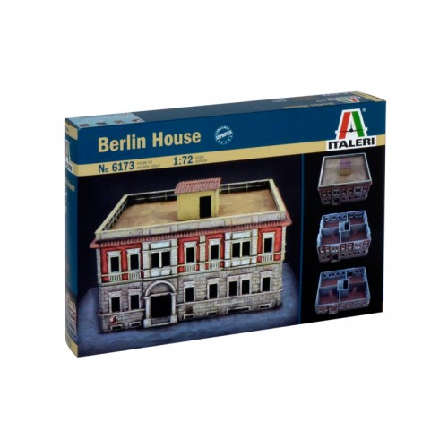 EDIFICIO BERLIN (253mm x 253mm)- ESCALA 1/72 - ITALERI 6173