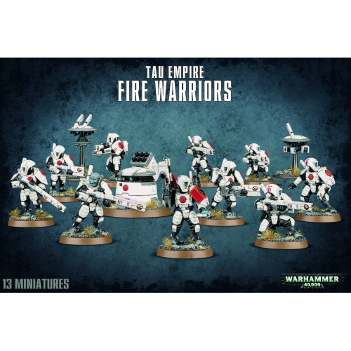 TAU EMPIRE FIRE WARRIORS - GAMES WORKSHOP 56-06