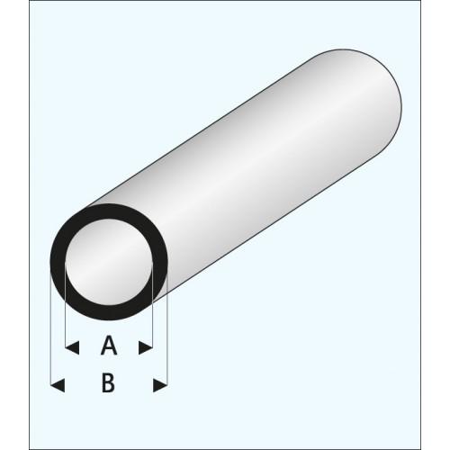 TUBO REDONDO (2 x 3 mm ) L: 330 mm Unidad