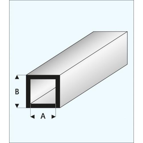 TUBO CUADRADO (1 x 3 mm ) L: 330 mm Unidad