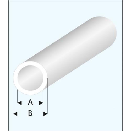 TUBO REDONDO TRASLUCIDO (2 x 3 mm ) L: 330 mm Unidad