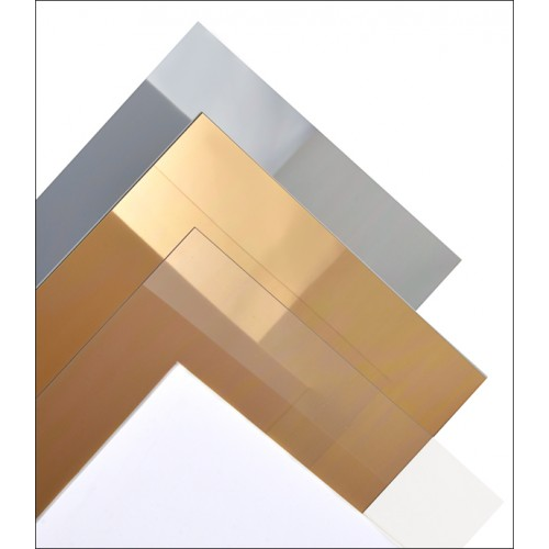 HOJA PLASTICO TRANSPARENTE 0,40 mm (320 x 194 mm) Unidad