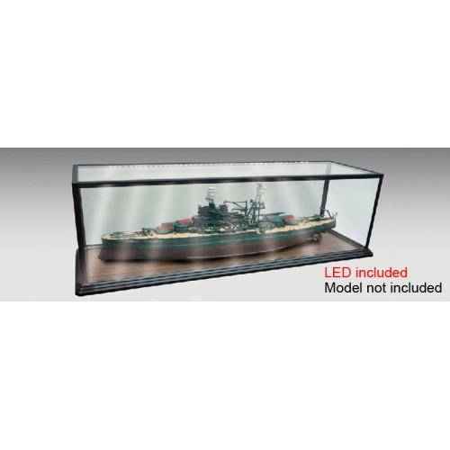 VITRINA PLASTICO & LED (1010 x 278 x 278 mm) - Trumpeter Master Tools 09841