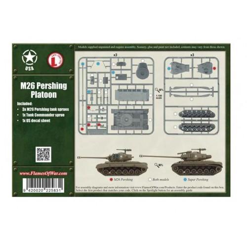 CARROS DE COMBATE M- 26 PERSHING (3 unidades)