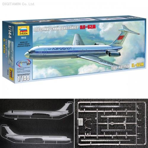 ILYUSHIN IL-62 M - escala 1/144