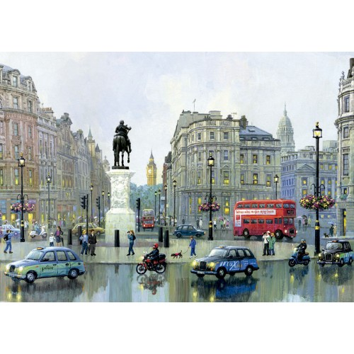 PUZZLE 3000 pzas. LONDON CHARING CROSS, Alexander Chen