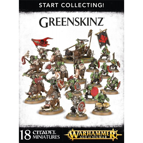 GREENSKINZ START COLLECTING