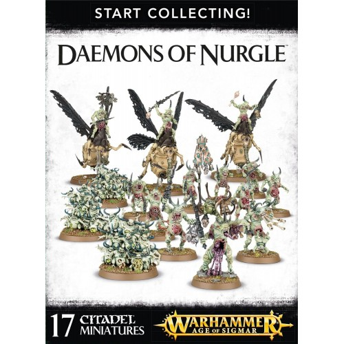 DEAMONS OF NURGLE START COLLECTING
