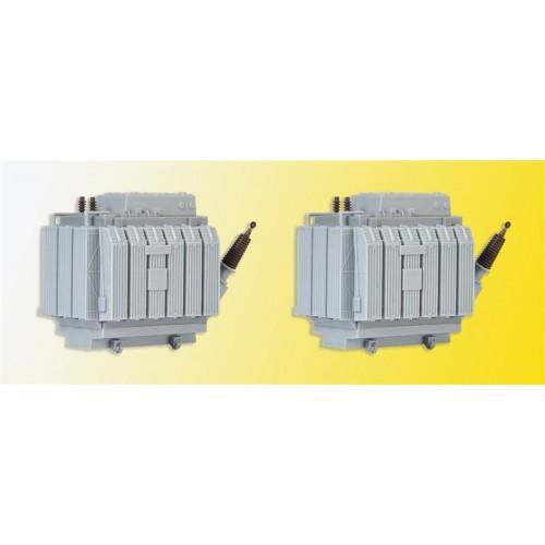 TRANSFORMADORES HO (60 x 33 x 450 mm) 2 unidades - KIBRI 39844