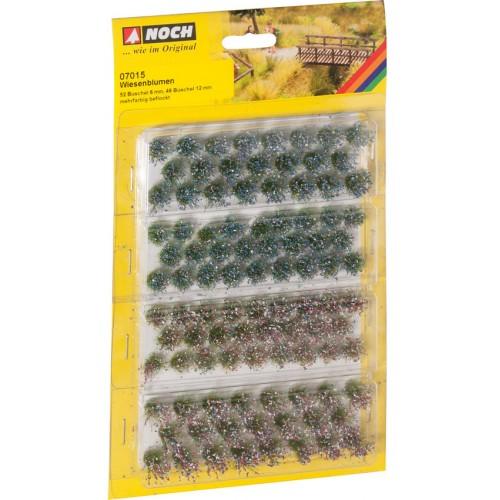 MANOJOS FLORES DE PRADERA H0/N/Z (6 mm/ 52 piezas - 12 mm/ 46 piezas)