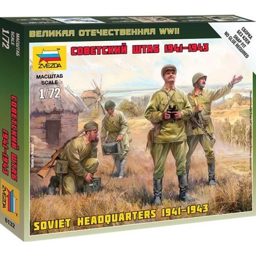 CUARTEL GENERAL SOVITICO 1941-43 ZVEZDA 6132