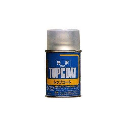 SPRAY TOPCOAT BARNIZ BRILLO (88 ml) MR HOBBY B501