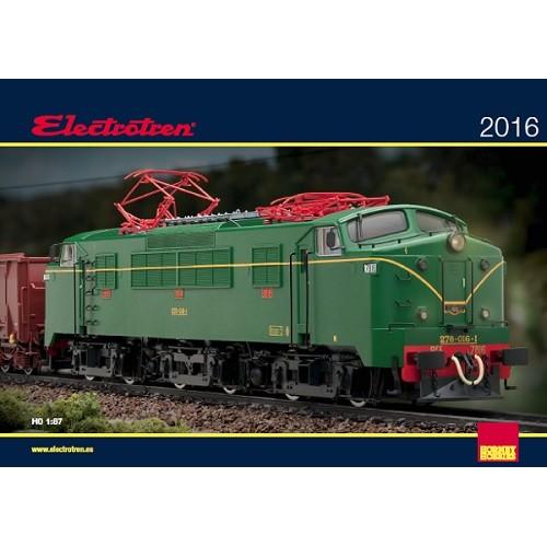 Catalogo General Electrotren 2016 H0