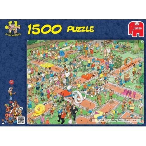 PUZZLE 1500 PIEZAS COMIC CRAZY GOLF