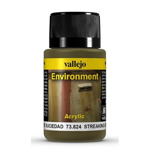 Weathering Effects: EFECTO RASTROS DE SUCIEDAD 40 ml - VALLEJO 73824