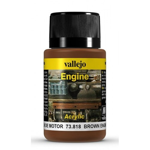 Weathering Effects: EFECTO HOLLIN DE MOTOR 40 ml - VALLEJO 73818