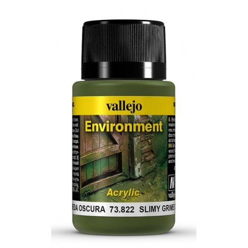Weathering Effects: EFECTO SUCIEDAD HUMEDA OSCURA 40 ml - VALLEJO 73822