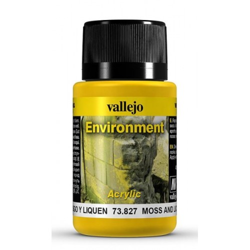 Weathering Effects: EFECTO MUSGO Y LIQUEN 40 ml - VALLEJO 73827