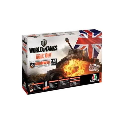 World of Tanks: CARRO DE COMBATE COMWELL 1/56 - Italeri 56504