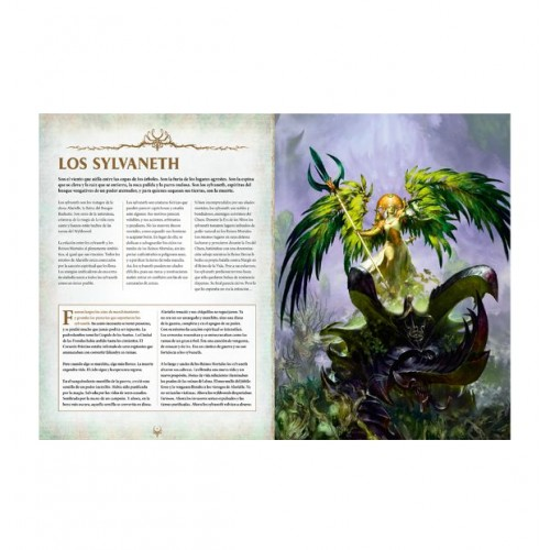 BATTLETOME SYLVANETH en ESPAÑOL - GAMES WORKSHOP 92-01-03