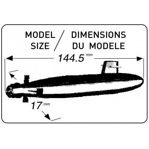 SUBMARINO CLASE DAPHNE 1/400 (CLASE S-60) - Heller 81069