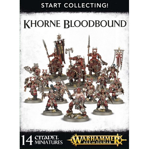 START COLLECTING KHORNE BLOODBOUND