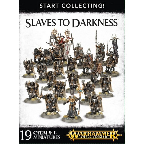 START COLLECTING SLAVE OF DARKNESS