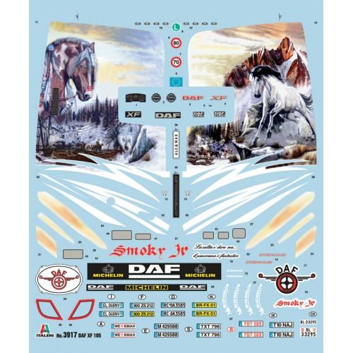 DAF XF105 Smoky Jr. 1/24 - Italeri 3917