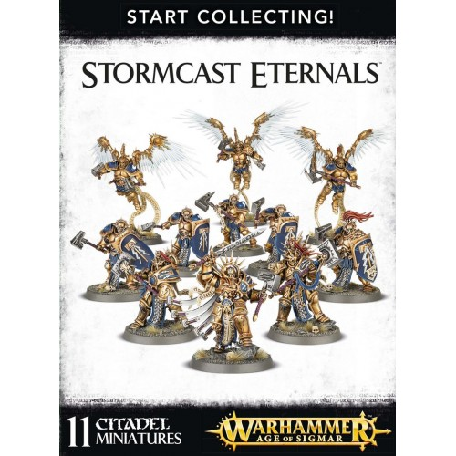 START COLLECTING STORMCAST ETERNALS - GAMES WORKSHOP 70-96