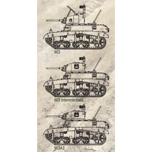 CARRO DE COMBATE M-3 / M-3 A1 STUART - Italeri 15761