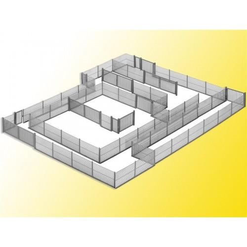 VALLA METALICA H0 (L: 2800 mm) - Kibri 38605