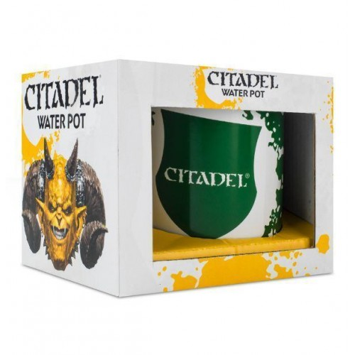 .CITADEL VASO CALIBAN GREEN Y CAJA METAL