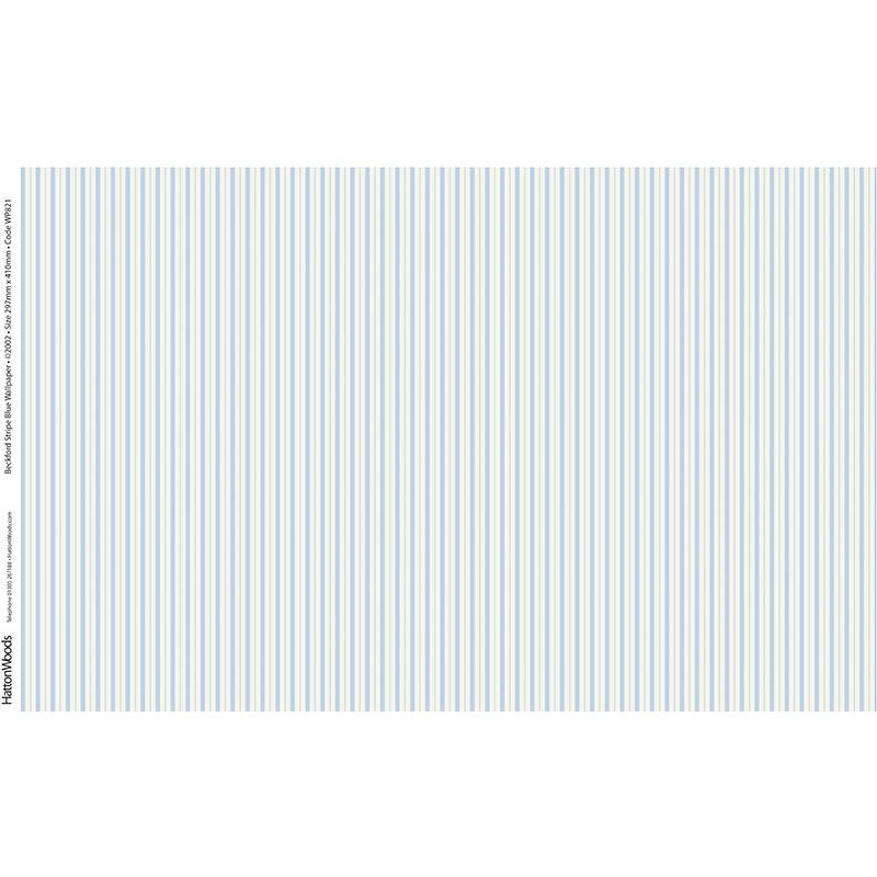 Papel pared rayas azules hobbyonline - Papel pared online ...