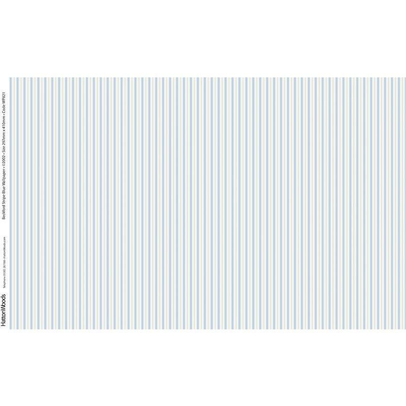 Papel pared rayas azules hobbyonline - Papel pared rayas ...