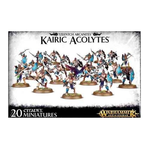 TZEENTCH ARCANITES KAIRIC ACOLYTES - GAMES WORKSHOP 83-73