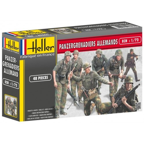 PANZERGRANADEROS ALEMANES - Heller 49606