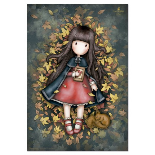 PUZZLE 1000 PZS AUTUMN LEAVES, GORJUSS - EDUCA 17114