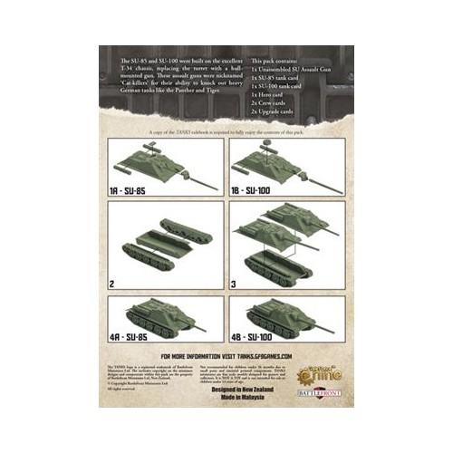 TANKS: SU-100 (ESPAÑOL) - TANKS 11S