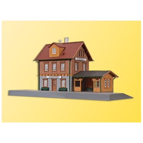 ESTACION SONDERNAU(17.5x9.5x9.5cms) KIBRI 37757 ESCALA N
