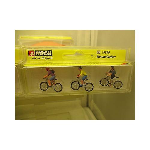 CICLISTAS Montain Bike - ESCALA h0 - NOCH 15899