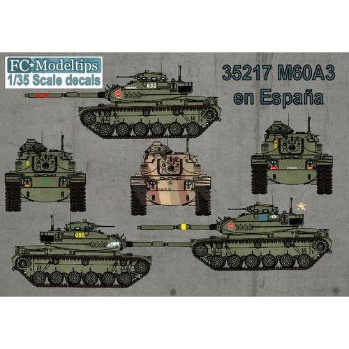 CALCAS CARRO DE COMBATE M-60 ESPAÑOL - FC Modeltips C35217