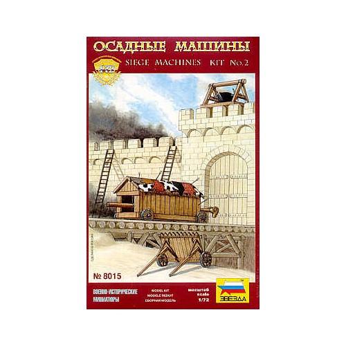 MAQUINAS DE ASEDIO MEDIEVALES II