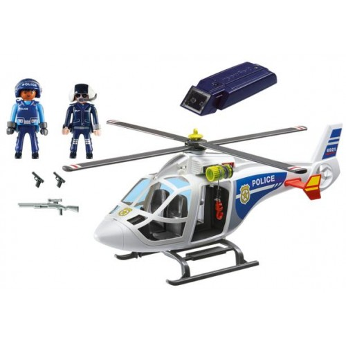HELICOPTERO POLICIA (Luz) - PLAYMOBIL 6921